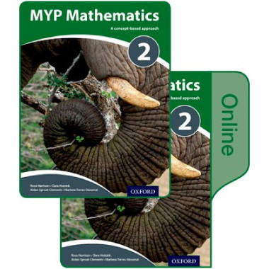 MYP Mathematics 2: Print and Online Course Book Pack - ISBN 9780198356264