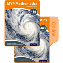 MYP Mathematics 4 & 5 Standard: Print and Online Course Book Pack - ISBN 9780198356288