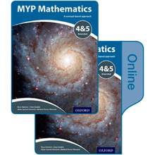 MYP Mathematics 4 & 5 Extended: Print and Online Course Book Pack - ISBN 9780198356295