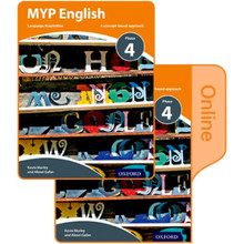 MYP English: Language Acquisition Phase 4: Print and Online Course Book Pack - ISBN 9780198398004