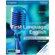 Cambridge IGCSE® First Language English Teacher's Resource with Cambridge Elevate - ISBN 9781108438940