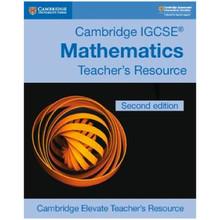 Cambridge IGCSE Mathematics Teacher's Resource Elevate Edition - ISBN 9781108437271