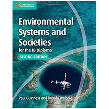 Environmental Systems and Societies: IB Diploma Coursebook with Cambridge Elevate Enhanced Edition (2 Year) - ISBN 9781316646014