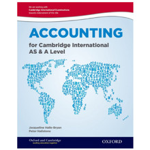Accounting for Cambridge International AS and A Level Student Book - ISBN 9780198399711