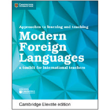 Approaches to Learning and Teaching Modern Foreign Languages Cambridge Elevate Edition (2 Year) - ISBN 9781108438490