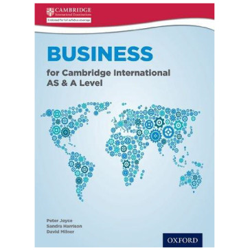 Business for Cambridge International AS and A Level Student Book - ISBN 9780198399773