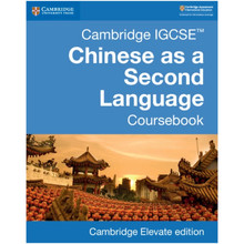 Cambridge IGCSE Chinese as a Second Language Coursebook Cambridge Elevate Enhanced Edition (2 Year) - ISBN 9781108438971