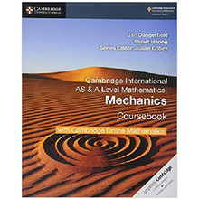 Cambridge AS & A Level Mathematics Mechanics Coursebook with Cambridge Online Mathematics (2 Years) - ISBN 9781108562942