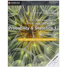 Cambridge AS & A Level Mathematics Probability & Statistics 1 Coursebook with Online Mathematics (2 Years) - ISBN 9781108610827