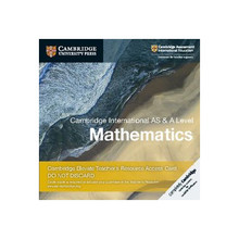 Cambridge International AS & A Level Mathematics Cambridge Elevate Teacher's Resource Access Card - ISBN 9781108461672