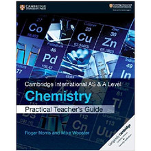 Cambridge International AS & A Level Chemistry Practical Teacher's Guide - ISBN 9781108539098