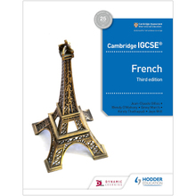 Cambridge IGCSE French Student Book Third Edition - ISBN 9781510447554