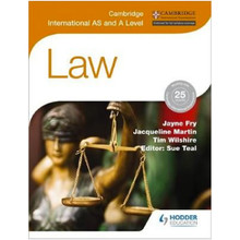 Cambridge International AS and A Level Law - ISBN 9781471866487