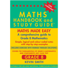 Maths Handbook and Study Guide for Grade 8 - ISBN 9780981437040