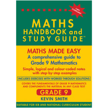 Maths Handbook and Study Guide for Grade 9 - ISBN 9780981437033