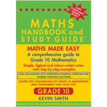 Maths Handbook and Study Guide for Grade 10 - ISBN 9780981437026