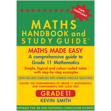 Maths Handbook and Study Guide for Grade 11 - ISBN 9780981437019