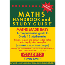 Maths Handbook and Study Guide for Grade 12 - ISBN 9780981437002