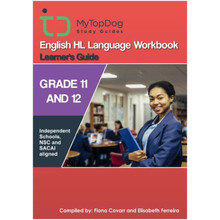 My Top Dog English Higher Level Grade 11 & 12 Language Workbook - ISBN 9781920398255