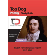 My Top Dog English Poetry Grade 12 IEB Study Guide - ISBN 9781920398026