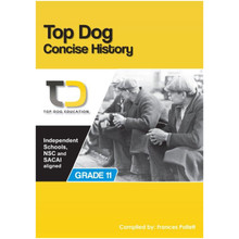Top Dog Concise History Grade 11 Study Guide - ISBN 9781920398040