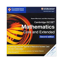 Cambridge IGCSE® Mathematics Core and Extended Cambridge Elevate Teacher's Resource Access Card - ISBN 9781108701532
