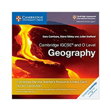 Cambridge IGCSE and O Level Geography Cambridge Elevate Teacher's Resource Access Card - ISBN 9781108457019