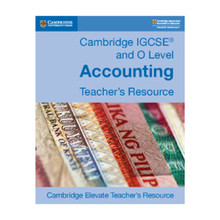 Cambridge IGCSE® and O Level Accounting Cambridge Elevate Teacher's Resource - ISBN 9781108440578