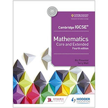 Cambridge IGCSE Mathematics Core and Extended 4th Edition - ISBN 9781510421684
