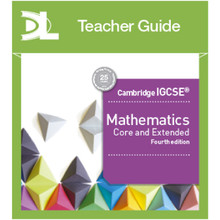Cambridge IGCSE Mathematics Core and Extended Online Teacher's Guide 4th Edition - ISBN 9781510424197