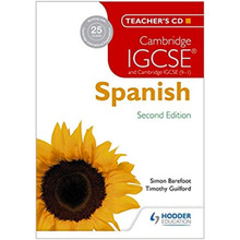 Cambridge IGCSE® Spanish Teacher's CD-ROM 2nd Edition - ISBN 9781471890222