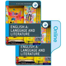 IB English A: Language and Literature Print and Online Course Book Pack - ISBN 9780198434580