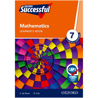 Oxford Successful MATHEMATICS Grade 7 Learners Book - ISBN 9780195996449