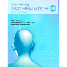 Singapore Maths Secondary - Discovering Mathematics Textbook 2A - ISBN 9789814448000