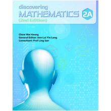 Discovering Mathematics Textbook 2A - Singapore Maths Secondary Level - ISBN 9789814448000