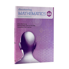 Singapore Maths Secondary - Discovering Mathematics Textbook 4A - ISBN 9789814448833