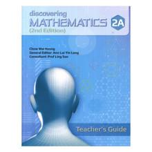 Discovering Mathematics Teacher's Guide 2A (2nd Edition) - Singapore Maths Secondary Level - ISBN 9789814448376