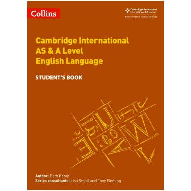 Collins Cambridge International AS & A Level English Language Student's Book - ISBN 9780008287603