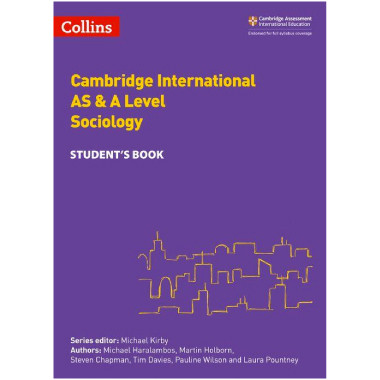 Collins Cambridge AS & A Level Sociology Student's Book - ISBN 9780008287627