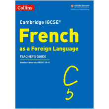 Collins Cambridge IGCSE French Teacher's Guide - ISBN 9780008300357