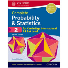 Complete Probability & Statistics 2 for Cambridge International AS & A Level - ISBN 9780198425175