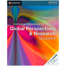 STOCK ITEM - Cambridge AS and A Level Global Perspectives and Research Coursebook - ISBN 9781107560819