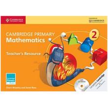 STOCK ITEM - Primary Mathematics Teachers Resource Book 2 with CD-ROM - ISBN 9781107640733