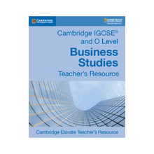 IGCSE and O Level Business Studies Teacher's Resource Elevate - ISBN 9781108441728