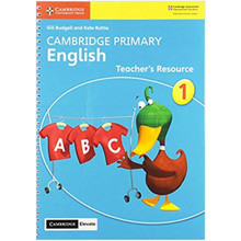 Cambridge Primary English Stage 1 Teacher's Resource with Cambridge Elevate - ISBN 9781108615822