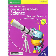 Cambridge Primary Science Stage 5 Teacher's Resource with Cambridge Elevate - ISBN 9781108678339