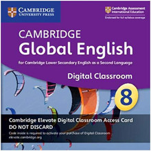 Cambridge Global English Stage 8 Cambridge Elevate Digital Classroom Access Card (1 Year) - ISBN 9781108727532
