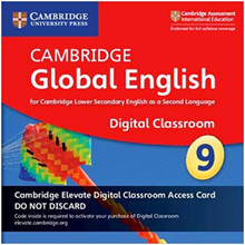 Cambridge Global English Stage 9 Cambridge Elevate Digital Classroom Access Card (1 Year) - ISBN 9781108739948