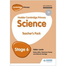 Hodder Cambridge Primary Science Teacher's Pack 6 - ISBN 9781471884177