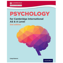Psychology for Cambridge International AS and A Level Student Book 2nd Edition - ISBN 9780198366751